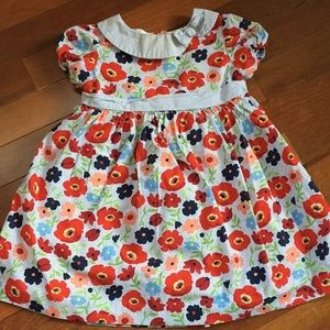 Janie and Jack Floral Girls Dress 12M-18M